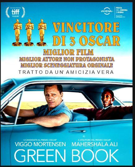 GREEN BOOK in lingua originale (29 Marzo)